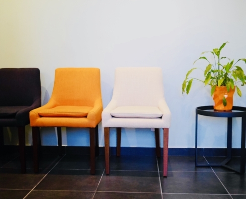 Cabinet chiro Elodie Rousset - salle attente 1