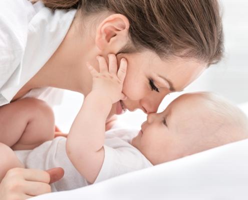 Maman et bébé chiropraxie
