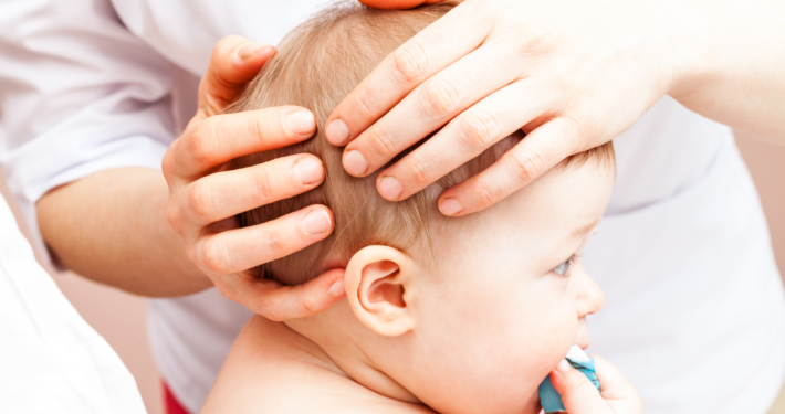 traitement crânien d'un nourrisson